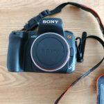 sonyの一眼レフカメラ・α350