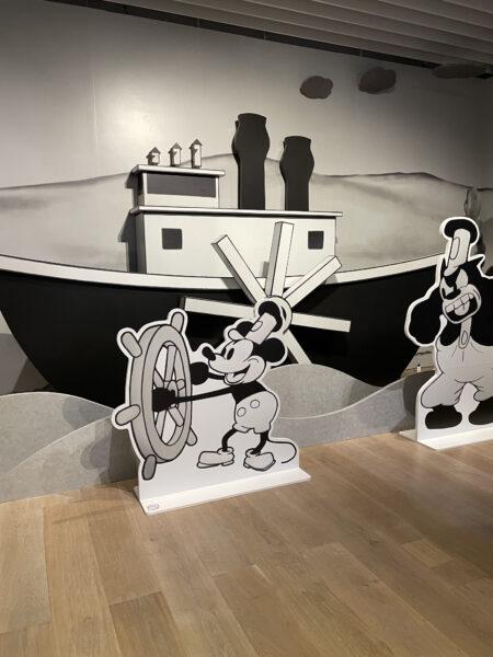 ミッキーマウスと蒸気船